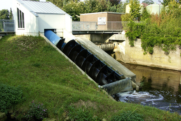 Some turbines, such as the Archimedes screw design, are regarded as relatively friendly to fish but have not yet been assessed for their potential impacts on threatened lamprey species